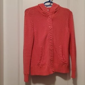Woman's Cable Knit Hoody